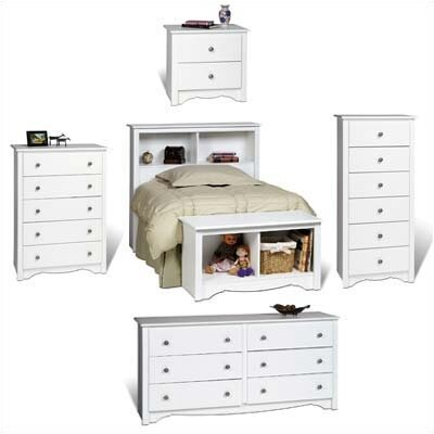 Prepac White Monterey Bedroom Collection