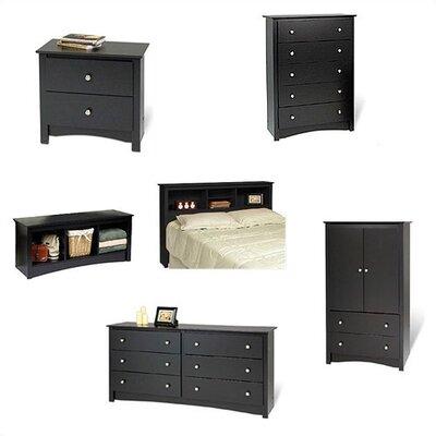 Prepac Sonoma Headboard Bedroom Collection