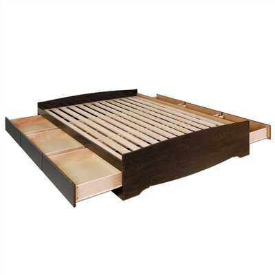 Prepac Manhattan Storage Platform Bed