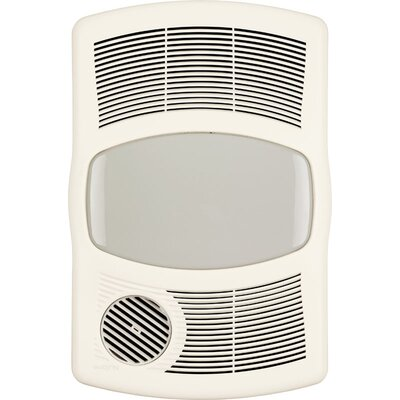 100 CFM Exhaust Bathroom Fan with Heater