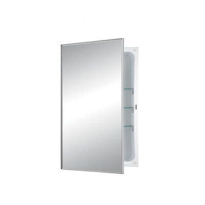 Basic Styleline Recessed Cabinet with Plate Glass Mirror