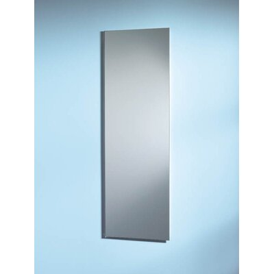 Specialty Pillar Single Door Recessed Cabinet with Plastic Shelves