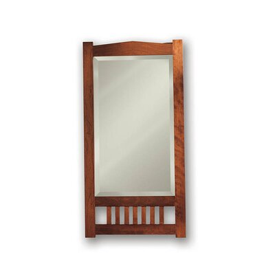 Mission Recessed Beveled Mirror in Rich