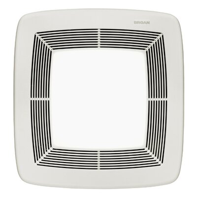 Broan Nutone Ultra X1 80 CFM Energy Star Multi-Speed Series Ceiling Fan Light