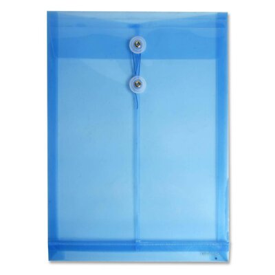 Itoya of America, Ltd Poly Envelope with Button String Closure