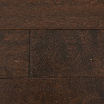 "Jasper Distressed Handscraped 6"" Engineered Maple in Port"