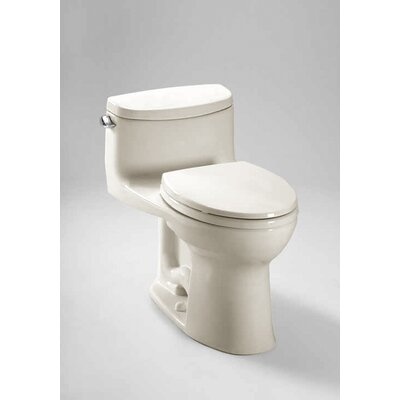 Supreme II High Efficiency 1.28 GPF Elongated 1 Piece Toilet with Sanagloss