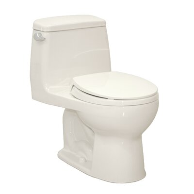 Ultramax G-Max Low Consumption 1.6 GPF Round 1 Piece Toilet
