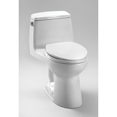 Toto UltraMax® Eco ADA Compliant 1.28 GPF Elongated 1 Piece Toilet with SoftClose Seat
