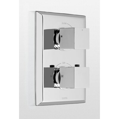 Toto Lloyd Thermostatic Mixing Valve Trim with Single Volume Control