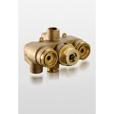 "Toto 0.75"" Thermostatic Mixing Valve in Polished Chrome"