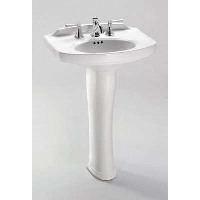 Dartmouth Pedestal Bathroom Sink with Faucet - LPT642.8