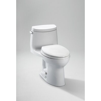 Toto Ultramax® II 1.28 GPF Elongated 1 Piece Toilet with Sanagloss