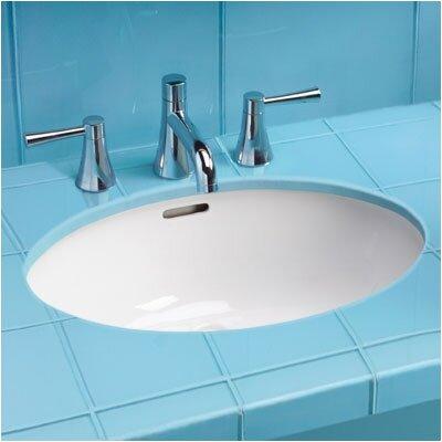 Ada Compliant Rimless Undermount Bathroom Sink With Sanagloss Glazing Wayfair
