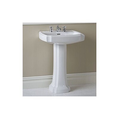 Toto Guinevere Pedestal Bathroom Sink Set
