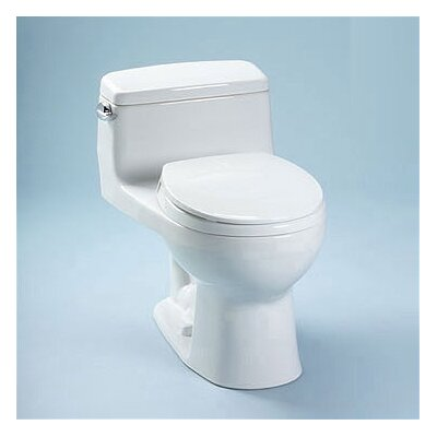 Toto Supreme® Eco 1.28 GPF Round 1 Piece Toilet with SoftClose Seat
