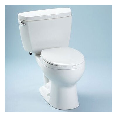 Drake Round 2 Piece Toilet with Bolt Down Lid
