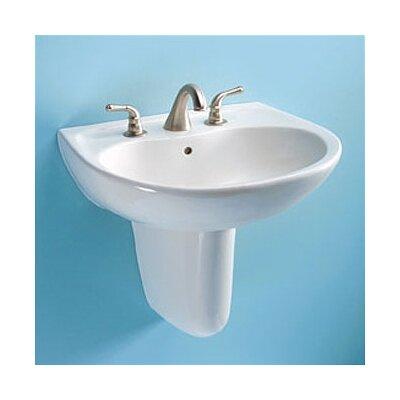 Supreme Wall Mount Bathroom Sink Set with SanaGloss Glazing - LT241 / HT242