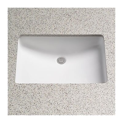 ADA Compliant Undercounter Bathroom Sink with SanaGloss Glazing - LT542G