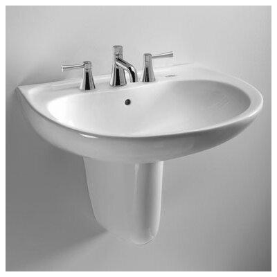 Toto Supreme Wall Mount Bathroom Sink Set - LHT241.4G