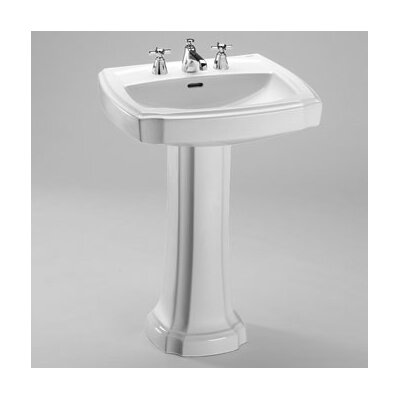 Guinevere Pedestal Bathroom Sink - LPT972