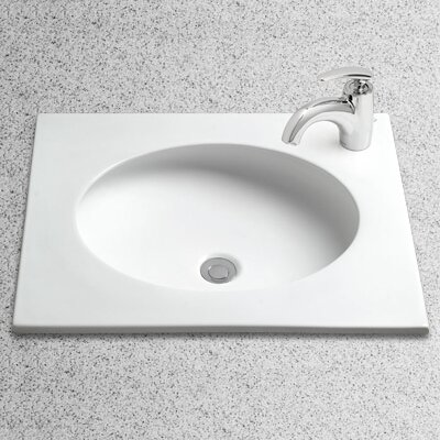 Toto Curva Self Rimming Bathroom Sink