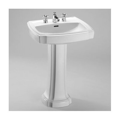Guinevere Pedestal Bathroom Sink - LPT970