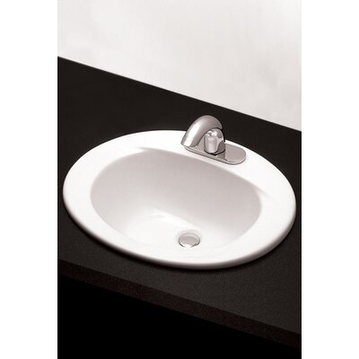 Toto Ada Compliant 20 Self Rimming Bathroom Sink Reviews Wayfair
