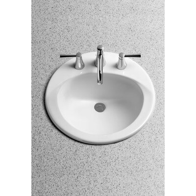 Toto Ultimate Self Rimming Bathroom Sink with SanaGloss Glazing
