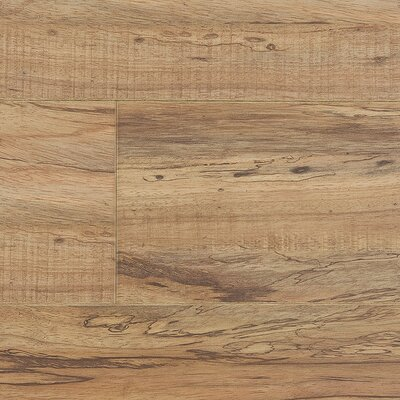 Lamton 12mm Handscraped Pecan Laminate in Distressed Pecan