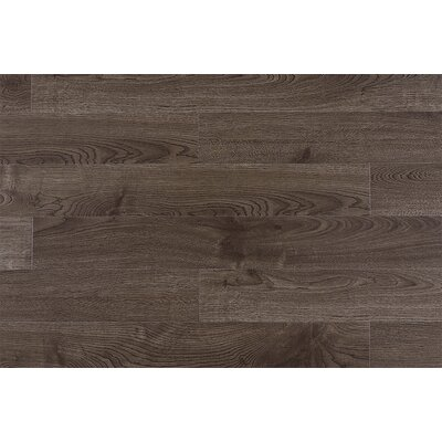Lamton 12mm Wire Brushed Oak Laminate in Rocky