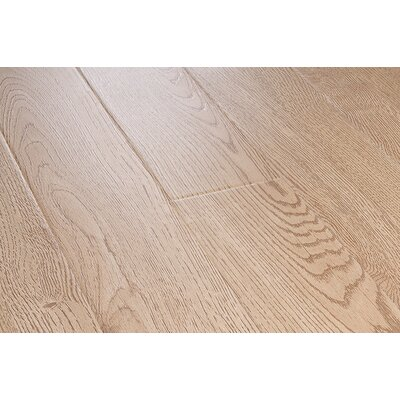 Lamton 12mm Wire Brushed Laminate in Champagne Oak
