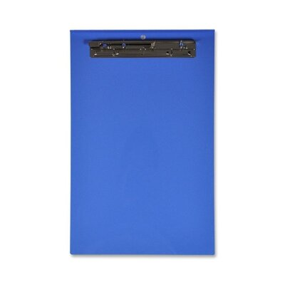 "Lion Office Products Computer Printout Clipboard, 18-2/3""x11-5/8"", Blue"