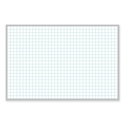 Magna Card Inc Magnetic Porcelain Board with Aluminum Frame 2 x 3