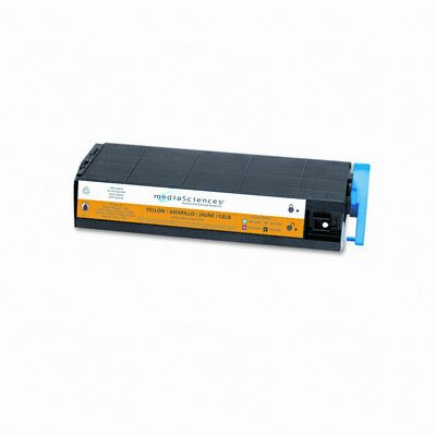 Media Sciences MS7000Y (41963001) Toner Cartridge, High-Yield, Yellow