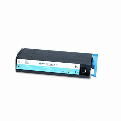 Media Sciences MS7000C (41963003) Toner Cartridge, High-Yield, Cyan