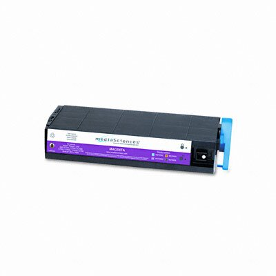 Media Sciences MS7000M (41963002) Toner Cartridge, High-Yield, Magenta