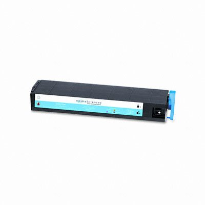 Media Sciences MS9000C (016197700) Laser Cartridge, High-Capacity, Cyan