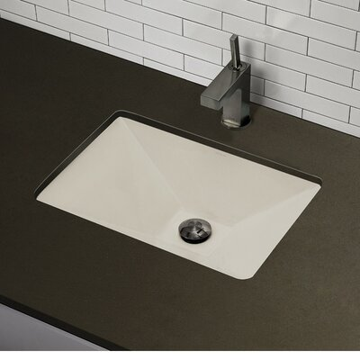 Sink Undermount : Classically Redefined Pyramidal Undermount Bathroom Sink - 1409