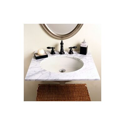 Classic Undermount Bathroom Sink with Overflow - 1401-C