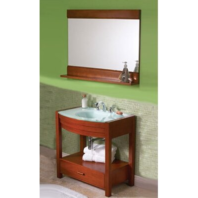 "DecoLav Ancahra 34"" Rectangular Vanity Set"