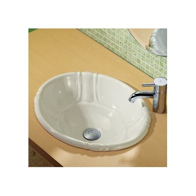 DecoLav Classically Redefined Drop-In Bathroom Sink
