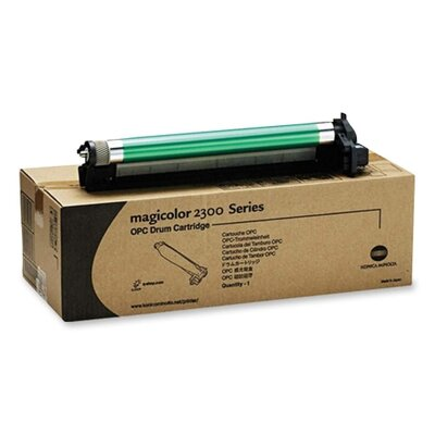 QMS Drum Imaging Cartridge, 45000 Page Yield Black/11250 Color
