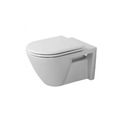 Duravit Starck 2 Wall Mounted Round Less Toilet Bowl Only