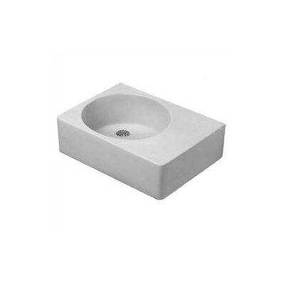 Scola Above Counter or Wall Mount Bathroom Sink - 068X600000