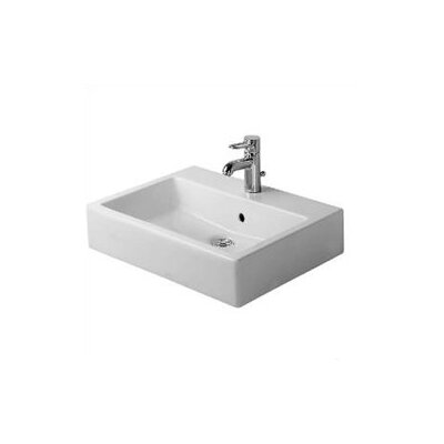 Counter Mounted Sink : Duravit Vero Wall Mount or Above Counter Sink & Reviews Wayfair