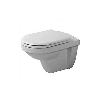 Duravit Happy D. Wall Mounted Round Less Toilet Bowl Only