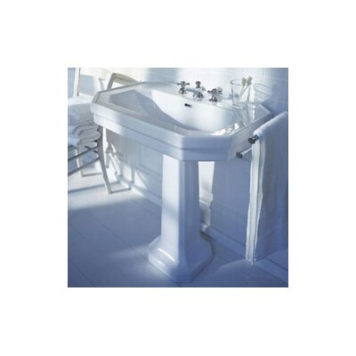 Duravit 1930 Series Pedestal Bathroom Sink Set