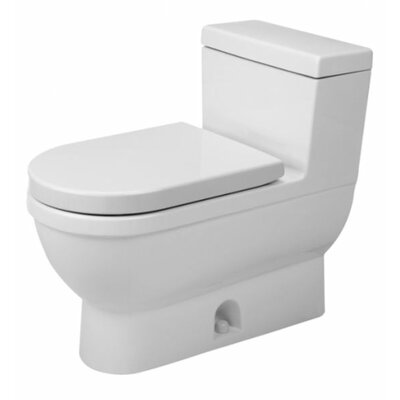 Starck 3 1.6 GPF Elongated 1 Piece Toilet