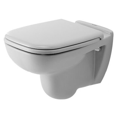Duravit D-Code Wall Mounted Washdown Round 1 Piece Toilet